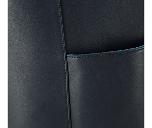 Wittchen Borsa urbana | Colore: Blu | Materiale: Pelle artificiale | Altezza (cm): 37.5 - Larghezza (cm): 47 | Collezione: Young | 83-4Y-E02-77