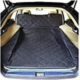 NOBER Pet Cargo Liner Cover Dogs SUV Cars Waterproof Non Slip Universal Fit 55 X 106 Bumper Flap Extra Large