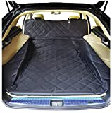 Cheap NOBER Pet Cargo Liner Cover for Dogs SUV Cars Waterproof Non Slip Universal Fit 55 X 106 with Bumper Flap Extra Large