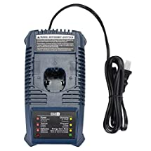 GERIT-- Replacement for Ryobi 140153004 ONE Plus 18V Ni-Cd Ni-Mh Battery Charger P115(Not for Lithium Battery)