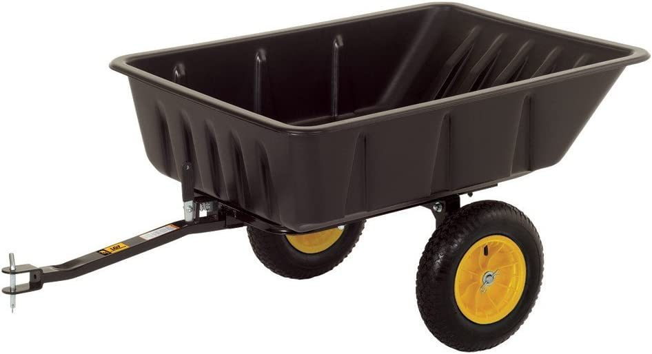 Polar Trailer Clam LG7, 600 Pound Capacity, Black