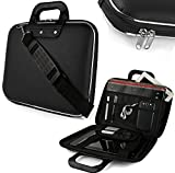 Cratos Laptop Messenger Office Bag, 15.6 inch, Briefcase Water Repellent Computer Case Sleeve for College/School/Business/Women/Man