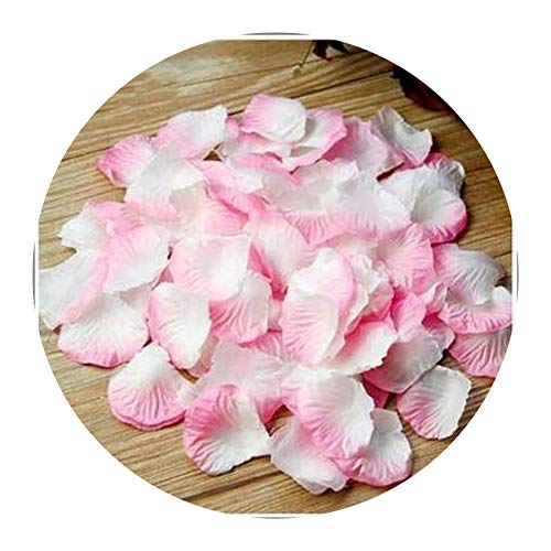 5000pcs/lot 55cm Silk Rose Petals for Wedding Decoration Romantic Artificial Rose Petals Rose Flower,Pink and -