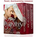 In Love by Christmas: Three Sweet, Clean, and Heartwarming Christian Romances
