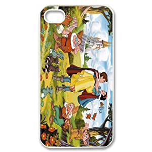 [StephenRomo] For Iphone 4 4S-fairy tale snow white holding apple PHONE CASE 4