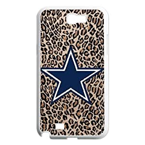 Qxhu Cowboys patterns Durable Rubber Silicon Case Cover for Samsung Galaxy Note2 N7100