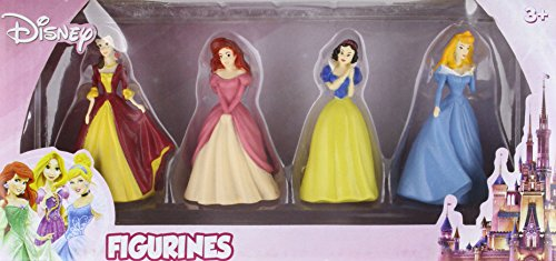 Beverly Hills Teddy Bear Company Princess Toy Figure, 4-Pack (Princess Snow White Figure)