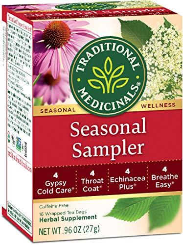 Traditional Medicinals Organic Seasonal Tea Sampler Variety Pack