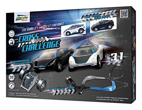 Darda Cross Challenge Race Track Playset, (Cross Race)