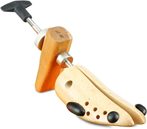 Langer /& Messmer barella scarpa di legno di faggio per donne barella in pelle larghezza e lunghezza incl