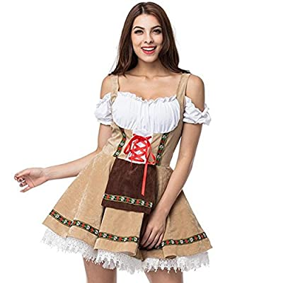 Oktoberfest Costume For Women Suspenders DressBeer Girl Festival French Maid Party Dresse Halloween Cosplay