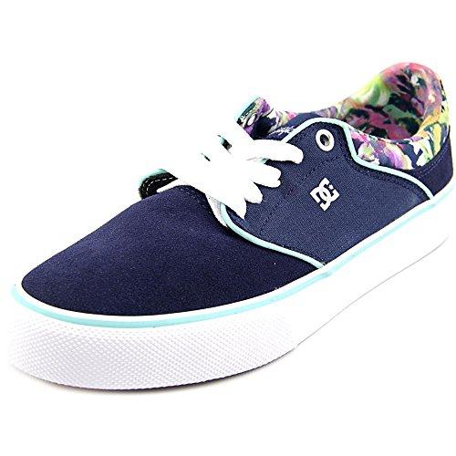 DC Women's Mikey Taylor Vulc SE Skate Shoe, Navy/Blue/White, 8 M US