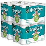 Angel Soft 2 Ply Toilet Paper, 48 Double Bath Tissue (Pack of 4 with 12 rolls each) (3 Pack(48 Double rolls))