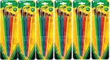 Crayola Paint Brush Assorted Sizes, 4 Count Pk (Pack of 6) Total 24 Brushes