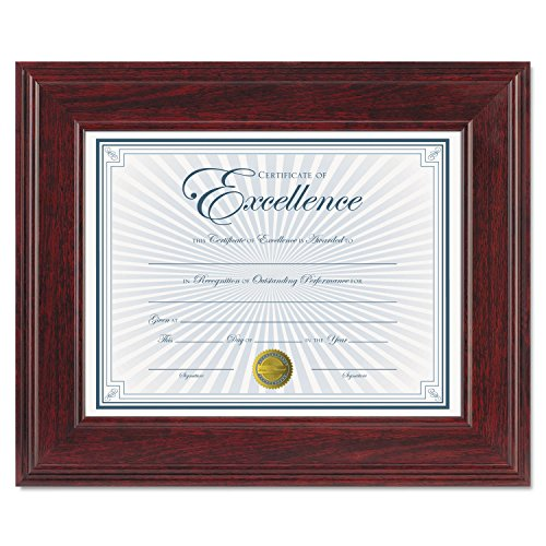 (DAX N15787NT Executive Document/Photo Frame, Desk/Wall Mount, Plastic, 8 1/2 x 11,)