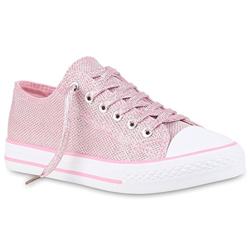 Chaussure De Stiefelparadies Courte Femme, Rose, Taille 38