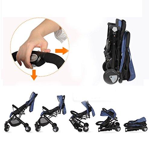HAOJUN Carro de bebé Puede Sentarse y mentir Board El Plano Ultra-Ligero Portable Alto Paraguas de Paisaje Coche (Color : 3#): Amazon.es: Hogar