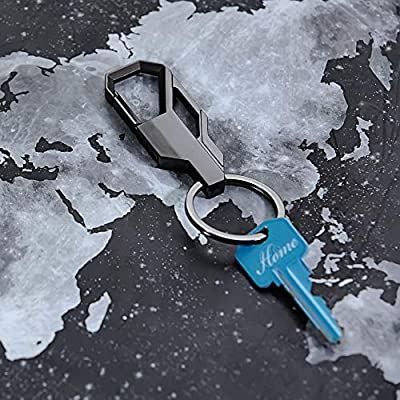 Taction Heavy Duty Keychain, Carabiner Car Keychain for Men and Women, Tactical, Includes 1 Large Keyring: Automotive