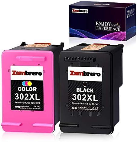 Zambrero Remanufacturado HP 302XL 302 XL Cartuchos de tinta Negro y Tricolor para HP Deskjet 1110 2130 3630 3633 3636 HP Envy 4520 4524 4525 4527 HP OfficeJet 3830 3831 4650 5230: Amazon.es: Oficina y papelería