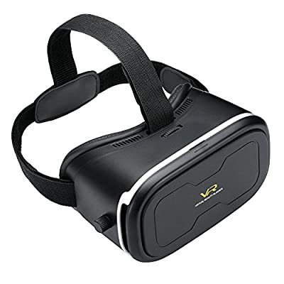 SROCKER R7 VR Box Intelligent Adjustable 3D VR Virtual Reality Glasses Headset 3D Video Movie Game Glasses
