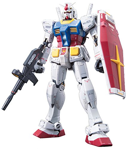 Bandai #01 RX-78-2 Gundam 1/144, Real Grade - Rx 78 Model Kit