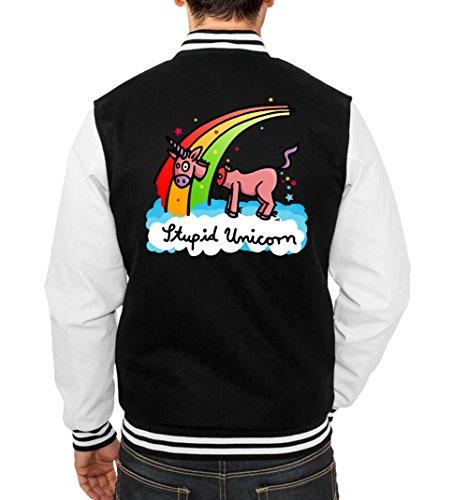 Stupid Unicorn College Vest Black Certified Freak