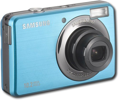 Samsung SL202 10MP Digital Camera with 3x Optical Zoom and 2.7 inch LCD