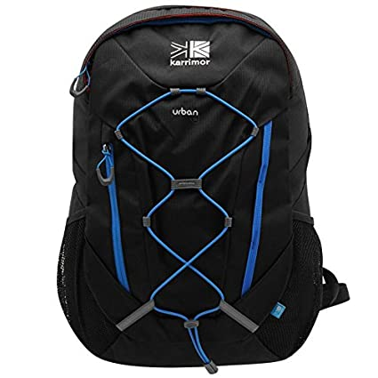 46aed7795c KARRIMOR URBAN 30 LITRE BLACK   BLUE RUCKSACK BACKPACK  Amazon.co.uk   Luggage
