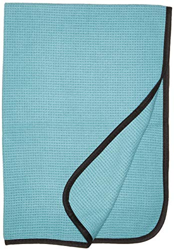 (Towel Titan Waffle Weave Microfiber Drying Towel 25 x 36 Inches - Premium, Soft Microfiber Safely Dries Your Vehicle - Waffle Weave Pattern Absorbs and Dries Your Vehicle Quickly and Effectively)