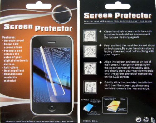 (3 Pack For Motorola Droid Razr M XT907 LCD Clear Screen Protector Guard - Perfect Fit)
