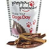 Peppy Pooch Bully Sticks 20 Pack. Junior Sized All-Natural American Beef Dog Chews. Made in The USA. For Sale
