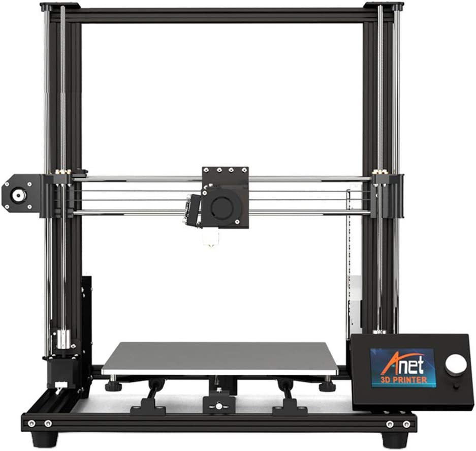 ZJRA Impresora 3D, nivelación automática asistida por Impresora 3D de Alta precisión 0.1MM, tamaño de impresión 300 * 300 * 350Mm, Trabaja con PLA, TPU, ABS, Caderas, Madera: Amazon.es: Hogar