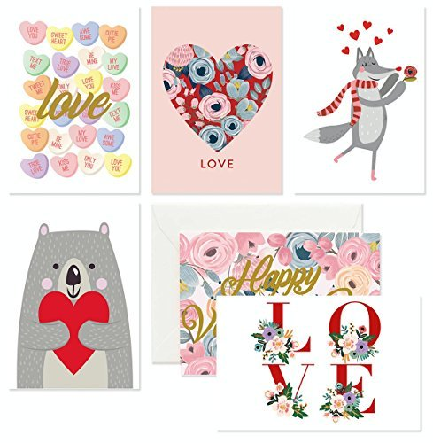 36 PACK - LOVE CARDS - LOVE AND VALENTINES DAY - Valentine Card