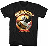 American Classics Kung Fu Panda Movies Skidoosh Adult Short Sleeve T Shirt Black
