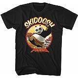 American Classics Kung Fu Panda Movies Skidoosh Adult Short Sleeve T Shirt