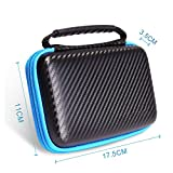 New Nintendo 2DS XL LL Protective Carrying Case KINGTOP Hard Shell Travel Bag for New Nintendo 2DS XL/LL New Nintendo 3DS/XL/LL