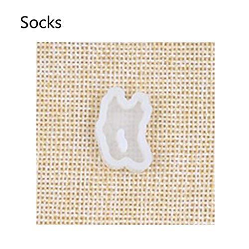 liumiKK Pants Skirts Underwear Silicone Resin Mold Earring Necklace Pendant Jewelry Mold