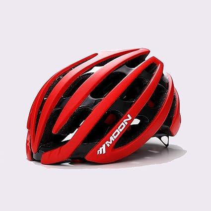 TKTTBD Casco Bicicleta, Super Light Casco Bicic,Certificado CE,Casco Ciclismo con Visera y Forro Desmontable Especializado con Seguridad