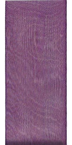 Offray Lady Chiffon Sheer Craft Ribbon, 7/8-Inch Wide by 100-Yard Spool, Grappa