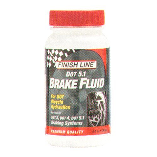 Finish Line High Performance DOT 5.1 Brake Fluid, 4-Ounce Model: BD0046601 Car/Vehicle Accessories/Parts