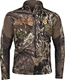ScentLok BaseSlayers AMP Mid Weight Top (Realtree Edge, X-Large)