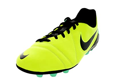504daf9e1530c Amazon.com | Nike Kids Jr CTR360 Enganche III FG-R Volt/Black/Green Glow Soccer  Cleat 5 Kids US | Soccer