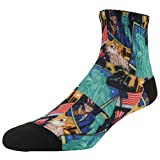 J'colour Men's Elite Casual Novelty Fun Funky Socks 1-4,6,8,9,12 Pairs