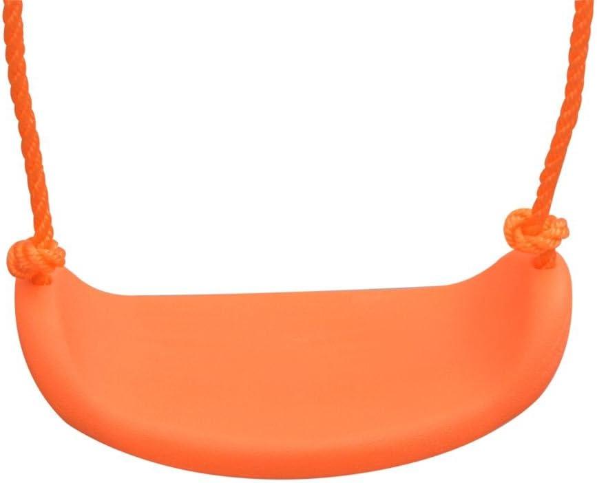Festnight Balan/çoire Enfant Exterieur avec 5 Si/èges Orange Aire de Jeu pour Enfant