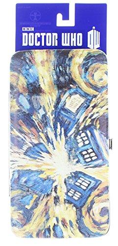 Hinge Wallet (Doctor Who Van Gogh Exploding TARDIS Hinge Wallet)