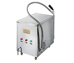 JIAWANSHUN 40L/10.5Gallons Oil Filtering Machine Fried Oil Filter Oil Fryer Filtration System for Restaurant (110V)