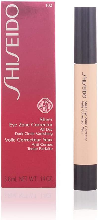 Shiseido Sheer Eye Zone Corrector for Women, No. 102 Light, 0.14 oz