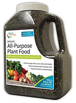 Natural Alternative 5-5-5 Organic All-Purpose Starter Plant Food 6.5lb. Jug (55500)