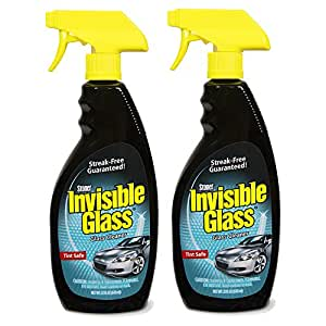 Invisible Glass 92164-2PK Premium Cleaner 22-Ounce Bottle-Case of 2, 44. Fluid Pack
