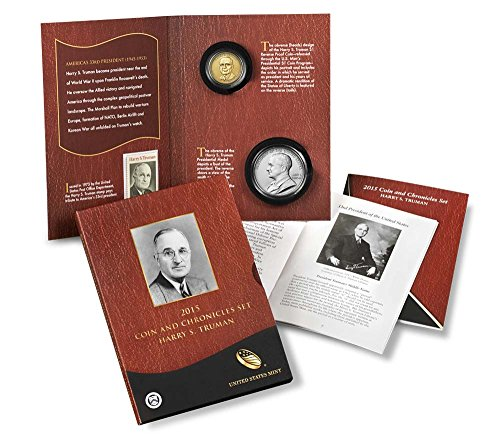 (2015 P Presidential Coin & Chronicles Set - Harry S. Truman (AX1) Uncirculated)